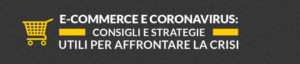 e commerce e coronavirus